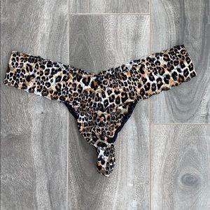 Women's La Senza cheetah lace thong